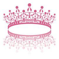diadema. eleganza tiara femminile con la riflessione