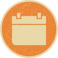 Icona di vettore dell'icona di vettore del calendario