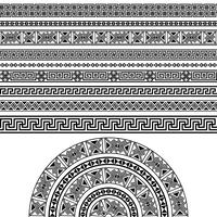 Set di design etnico