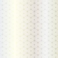 motivo a medaglione circolare ornato in argento bianco