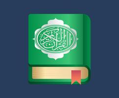 Illustrazione di Al Quran vettore