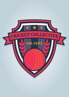 Funky Cricket Logo Vector