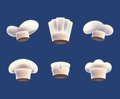 Illustrazione del cappello del cuoco unico
