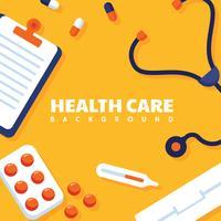 Disegno vettoriale di assistenza sanitaria