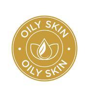 Icona della pelle grassa.