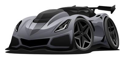 Illustrazione americana moderna di vettore dell'automobile sportiva