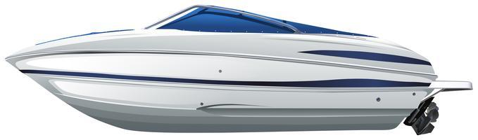 Una barca vettore
