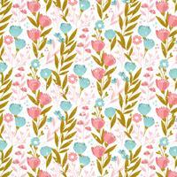 Vector Seamless Pattern di primavera