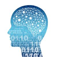 Illustrazione di concetto di intelligenza artificiale. vettore