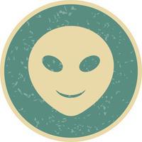 Icona di vettore di alieni Emoji