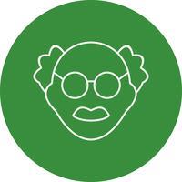 Scienziato maschile Vector Icon