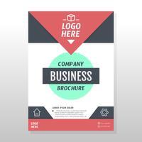 Progettazione brochure aziendale vettore
