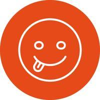 icona di vettore di lingua emoji
