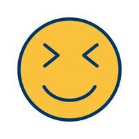 icona di vettore emoji wink