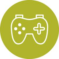 Icona del video gioco vettoriale