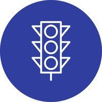 Icona di segnali di luce vettoriale