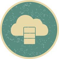 Base di dati Icona di vettore