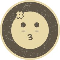 Ragazza Emoji Vector Icon