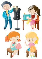 Vestiti per cucire uomo e donna