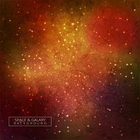 Galassia nella bellezza dello spazio di sfondo colorato universo vettore