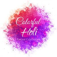 Priorità bassa variopinta di celebrazione di festival di Holi vettore