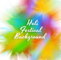 Fondo variopinto di celebrazione felice di festival di Holi vettore
