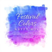 Priorità bassa felice di celebrazione di Holi di festival indiano vettore