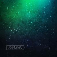Stelle di un pianeta e galassia in uno sfondo colorato di spazio libero vettore