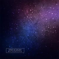 Galaxy sfondo colorato design vettore