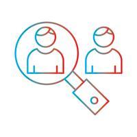 Linea sfumatura icona perfetta Vector o Pigtogram Illustration