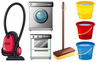 prodotti per la pulizia vettore