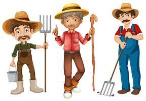 Agricoltori vettore