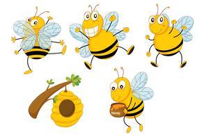 api vettore
