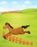Un cavallo vettore