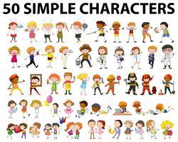 Cinquanta tipi diversi di persone