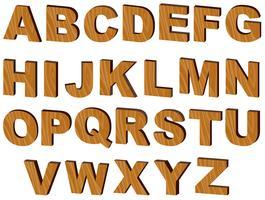 Lettere dell'alfabeto vettore