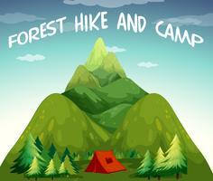 Campeggio per escursioni