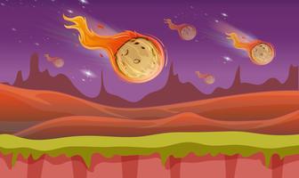 Comete che cadono dallo spazio