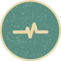 Icona del tasso di polso vettoriale