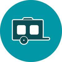 Icona del vagone vettoriale