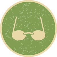 Icona di occhiali vettoriale