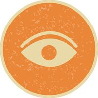 Icona occhio vettoriale