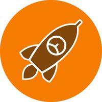 Icona del razzo di vettore