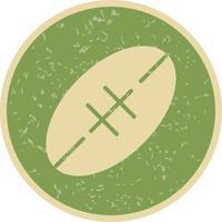 illustrazione vettoriale di icona di rugby