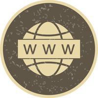 Icona di ricerca Web vettoriale
