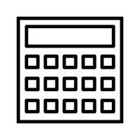 Icona di calcolo vettoriale
