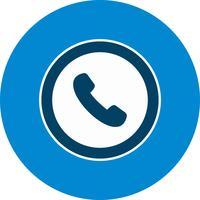 Icona del segnale stradale del telefono di vettore