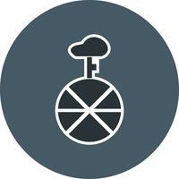 Icona del monociclo vettoriale