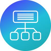 Icona di Sitemap vettoriale