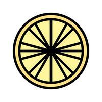 Icona del limone vettoriale